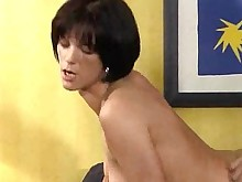 brunette fuck hot lingerie small-tits little milf panties vintage