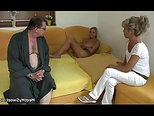 boyfriend big-cock daddy double-penetration granny mature milf old-and-young ride