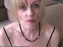 amateur blowjob close-up big-cock cougar creampie cumshot granny mammy
