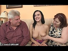 daddy double-penetration fuck granny innocent mature milf old-and-young seduced