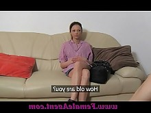 casting lesbian licking mature milf office orgasm really