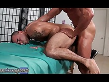 anal ass big-cock daddy fuck huge-cock massage mature oil