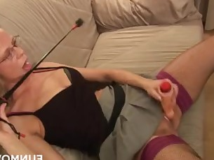 amateur blonde fetish fingering granny high-heels licking lingerie masturbation
