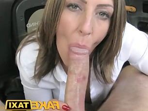 big-tits blowjob brunette car big-cock deepthroat dolly huge-cock milf