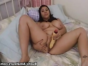 amateur big-tits boobs boss brunette bus busty curvy dildo