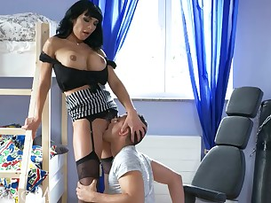 boss facials fetish fuck hardcore high-heels horny mammy milf