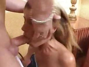 big-tits blonde blowjob boobs couch cumshot deepthroat facials fuck