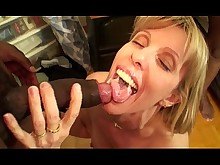 beauty black car big-cock cougar cumshot facials fuck huge-cock